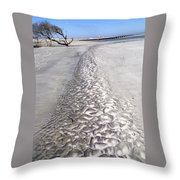 Follow The Trail Throw Pillow