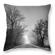 Follow Your Dreams    Monochrome Throw Pillow