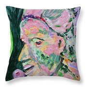 Following In The Footsteps Of Matisse Throw Pillow