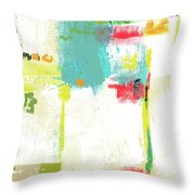 Following On Throw Pillow
