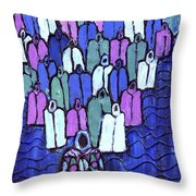 Following The Ancestors Throw Pillow