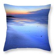 Folly Beach Dawn II Throw Pillow