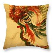Folorn - Tile Throw Pillow