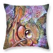 Fomorii Incubator - In The Beginning Throw Pillow