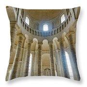 Fontevraud Abbey Chapel, Loire, France Throw Pillow