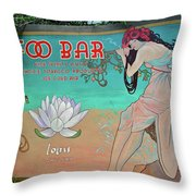 Foo Bar Artwork Throw Pillow