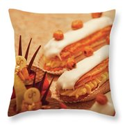 Food - Cake - Little Cakes Throw Pillow