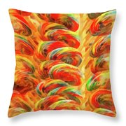 Food - Candy - Lollipops Throw Pillow
