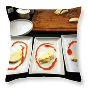Food 2 Throw Pillow
