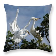 Food Competition 2 Throw Pillow