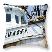 Food On The Table Throw Pillow