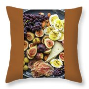 Foodie Phone Case Throw Pillow