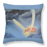 Foolish Fears Throw Pillow