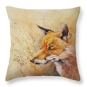 Foolish Fire Throw Pillow