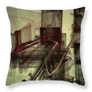 Fools Mate Throw Pillow