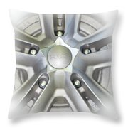 Foose Rims Throw Pillow