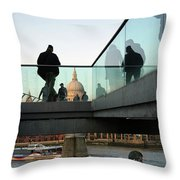 Foot Bridge To T, Paul's Throw Pillow