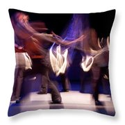 Foot Stomping Dance Throw Pillow
