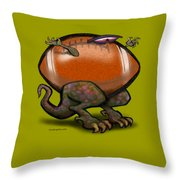 Football Beast Throw Pillow