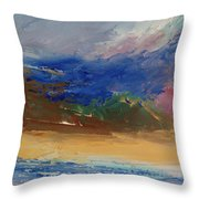 Foothill 04 Throw Pillow