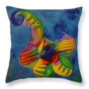 Footy Throw Pillow