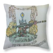 For A  Better Tomorrow Throw Pillow