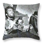 For A Few Dollars More Throw Pillow
