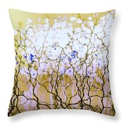 For A Hundred Years She Slept Throw Pillow