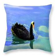 For A Swim Throw Pillow