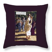 For Adults Throw Pillow