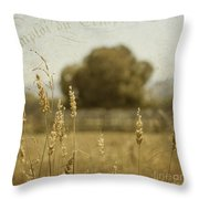 For Everything There Is A Time Throw Pillow