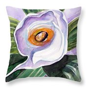 For Georgia O Keefe Throw Pillow