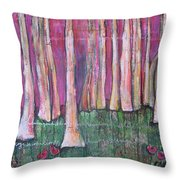 For Page Turner Throw Pillow