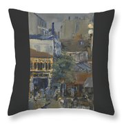 For Taking The Place Clichy Throw Pillow