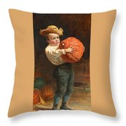 For Thanksgiving Day Throw Pillow