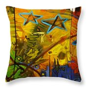 for the benefit of mr. Kite Throw Pillow