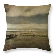 For The Lonely Souls Throw Pillow by Laurie Search