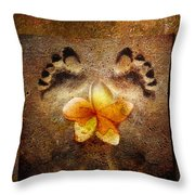 For The Love Of Me Throw Pillow by Jacky Gerritsen