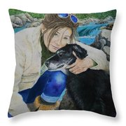For The Love Of Simon Throw Pillow