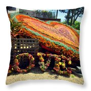 For The Love Of Succulents Throw Pillow