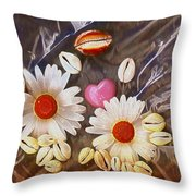 For The Love Of Summer And Life Throw Pillow