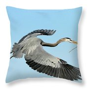 For The Nest Throw Pillow
