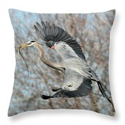 For The Nest Too Throw Pillow