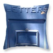 For The Postman Throw Pillow