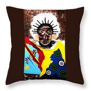 For The Women Of The Congo Throw Pillow