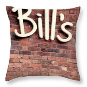 For William Throw Pillow