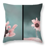 For You - Diptych Throw Pillow
