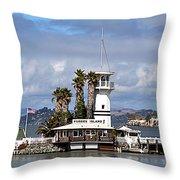 Forbes Island Throw Pillow