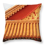 Rooftop Splendor Throw Pillow