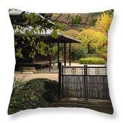 Forbidden Garden Throw Pillow